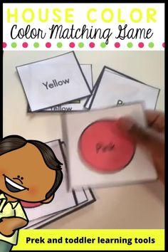 Preschool Colors, Preschool Curriculum, Preschool Classroom, Kindergarten Activities, Toddler Activities, Preschool Activities, Classroom Ideas, Learning Resources, Teacher Resources