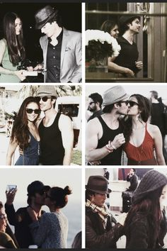Ian and Nina Ian And Nina, Vampire Diaries The Originals, Ian Somerhalder, Delena, Best Actor, Damon, Famous Faces, Future Husband, Cute Couples