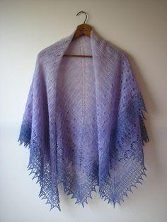 Viola Shawl by Kirsten Kapur  #knit