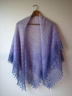 Viola Shawl by Kirsten Kapur  #knit