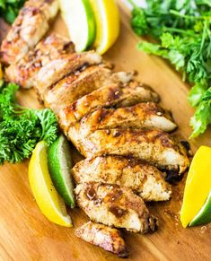 Island Chicken Marinade - This mouth-watering chicken marinade recipe comes straight from a waterfront restaurant and has a truly unbeatable flavor combination. You'll feel like you're eating on a tropical island! Chicken Marinade Recipes, Chicken Marinades, Grilling Recipes, Cooking Recipes, Healthy Recipes, Meat Marinade, Grilling Ideas, Chicken Slices, How To Cook Chicken