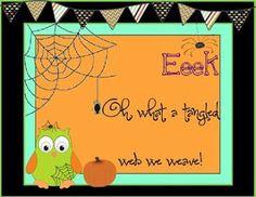 A Teaspoon of Teaching: #Halloween Freebie
