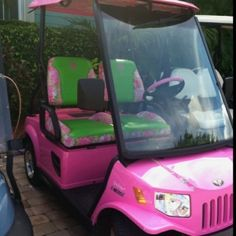 soo daddy, since we've been lookin for a new golf cart . . .