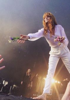 Florence Welch of Florence and The Machine - this is so cute