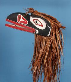 Kwakwaka'wakw Raven Mask by Andy Wesley