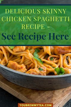 Here is another recipe that is easy to make and it is delicious as well. You Brew My Tea offers Skinny Chicken Spaghetti recipe to make for dinner for you and your family. The ingredients keep the calorie count down and it will help you follow the Smartpoint allocations in Weight Watchers Blue Plan (5 Smartpoints), Green Plan (7 Smartpoints), and Purple Plan (2 Smartpoints). You even get to enjoy pasta, isn't that great! Download the recipe here… #skinnychickenspaghetti #wwchicken… Food Dishes, Main Dishes, Lunch Recipes, Dessert Recipes, Chicken Spaghetti Recipes, Skinny Chicken, Best Food Ever, Gluten Free Recipes, Green Beans