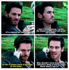 Hook vs modern technology XD (via tumblr).