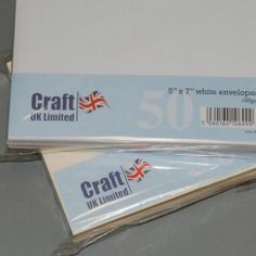 Craft UK UK Envelopes Ivory 5x7