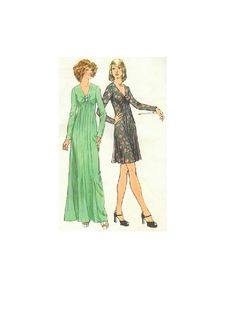 Simplicity sewing pattern 70s disco by adelebeeannpatterns on etsy