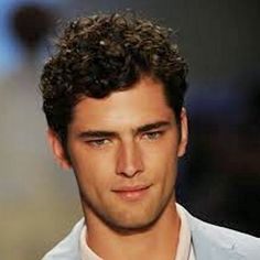 mens business friendly curly hairstyles - Google Search