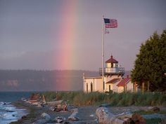 The United States Lighthouse Society   Point No Point Vacation Rental
