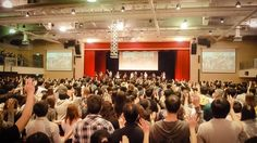 Yesterday at New Life Church, Taipei. The Presence of God saturated the whole hall during worship ...