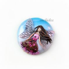 POLYMER CLAY CABOCHON UPDATE & NEW TUTORIAL   MOSAIC EFFECT FOIL