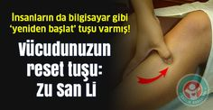 "Vücudunuzun uzun ömür noktası"": Zu San Li via Health Tips, Health Care, Qigong, Self Care Routine, Reflexology, Beauty Recipe, Massage Therapy, Reiki, Chakra"