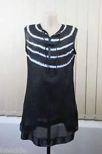 Size XL 14 Ladies Sleeveless Tunic Dress Layer Lace Casual Boho Chic Beach Style | eBay