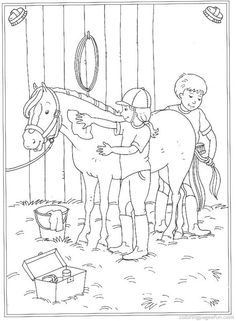 Horse Coloring Pages 25