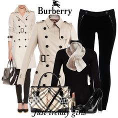 A fashion look from January 2014 featuring Splendid tops, Burberry coats and STELLA McCARTNEY jeans. Browse and shop related looks.