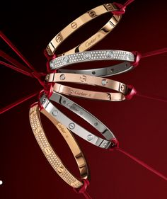 cartier love bracelets love all 3 colors! Thanks Moosey! I look like money now. - cartier love bracelets love all 3 colors! Thanks Moosey! I look like money now! Bracelet Cartier, Cartier Jewelry, Bracelet Love, Love Bracelets, Luxury Jewelry, Gold Jewelry, Women Jewelry, Cheap Jewelry, Fine Jewelry
