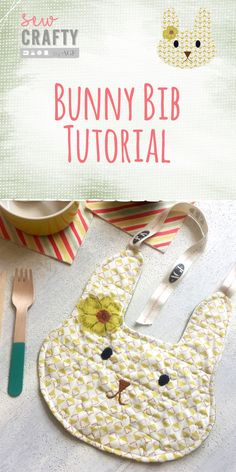 How to sew a bunny bib? - Sew Crafty Easter sewing tutorial