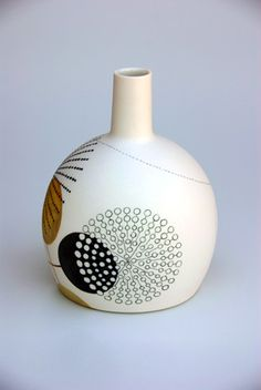 Amanda Briggs - lovely abstracted plant form patterns