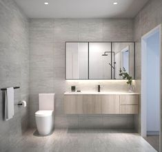 Canny Projects construction of 7 luxury town houses in Burwood, with stunning architecture, designer details throughout, and meticulous attention to detail. Powder Rooms, Amazing Bathrooms, Double Vanity, Townhouse, Showers, Bathroom Ideas, Toilet, Kitchens, House Ideas
