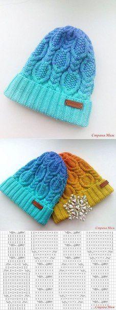 Knitting Pattern femmes perles design béret chapeau avec Tassel KM AUA offre spéciale