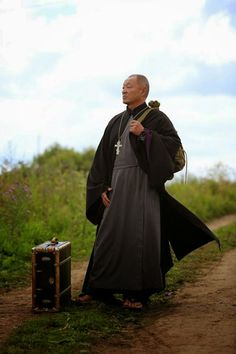 """""""The Priest-San"""" directed by Yegor Baranov, is movie that tells the story of Japanese priest Takuro Nakamura, who flees Yakuza wars at home for the Russian sticks.Probably will be released in August 2014."""