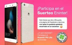 ¡Suerteo Eninter Huawei P8 Lite!