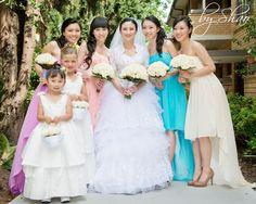 Cheryl, Idora Bridal's real bride Bridal Wedding Dresses, Bridesmaid Dresses, Cheryl, Collection, Fashion, Bridesmade Dresses, Moda, Bride Dresses, Fashion Styles