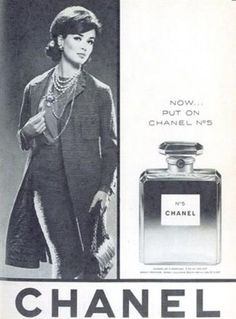 Year : 1964 ( 1960s )  Brand : Chanel No