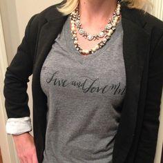 Live & Love Mn Graphic Tee #minneapolis #Minnesota