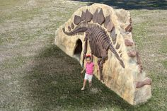 The Dino Rock Climb N Slide makes playtime fun and entertaining!  This combo play structure is both a slide and a climbing wall, and offers a tunnel to explore.