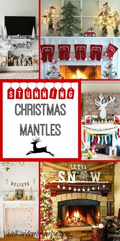Stunning Christmas Mantles that will rock your holiday decor