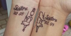 15 Sister Tattoo Ideas To Show The World Your Special Bond