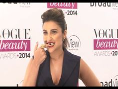Parineeti Chopra GLAMOROUS @ Vogue Beauty Awards 2014.