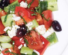 Your Daily Dish: Chopped Greek Salad - Everything Zoomer