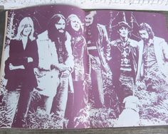 Rare Vintage Mystery To Me/Fleetwood Mac Songbook with Band Photos; Trippy Music