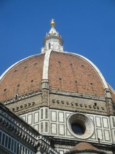 The Brunelleschi's Dome in the complex of Santa Maria del Fiore, #Florence.