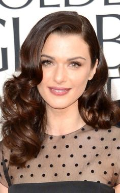 Winter Hair - Love Rachel Weisz's hair.  I think it would be perfect for the engagement photo.