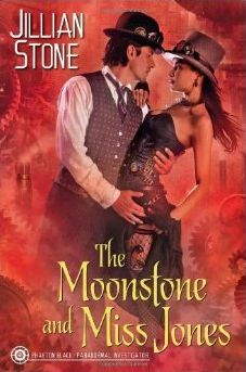 Book Review of The Moonstone and Miss Jones by Jillian Stone on www.sciencefictionandsuch.com