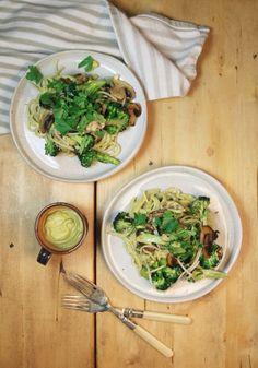 Vegan and Gluten Free Pasta Carbonara