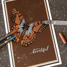 Watercolour with Metallic