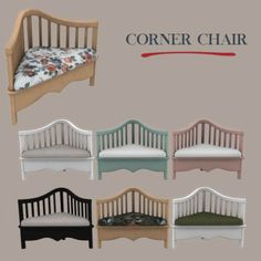 Leo Sims - Corner chair for The Sims 4