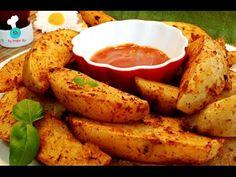 PATATAS DELUXE DE McDonald's AL HORNO | Healthy McDonald's Deluxe Potatoes | Belén Ru - YouTube Healthy Mcdonalds, Food N, Food And Drink, Cooking Recipes, Healthy Recipes, Deli, Clean Eating, Snacks, Dinner