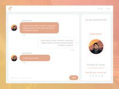 Chat UI by Lorenzo Perniciaro