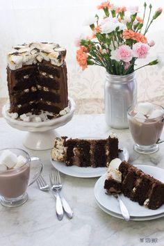 triple chocolate cak