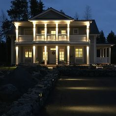 The Aurora house model by Kannustalo construction company, Finland Luxury Houses, Finland, Future House, Aurora, Architecture Design, Paradise, Aesthetics, Construction, Lights