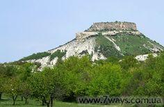 Tepe-Kermen cave town / пещерный город Тепе-Кермен, Крым