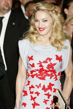 As the chameleonic queen of pop celebrates her big day, we look back at her style archive Madonna Fashion, Lady Madonna, Madonna Material Girl, Material Girls, Hollywood Celebrities, 60th Birthday, Her Style, Film Festival, Movie Stars