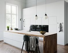 model at Kitchen Kitchen Tiles Design, Kitchen Wall Tiles, Kitchen Cabinet Design, Kitchen Interior, Kitchen Decor, Kitchen Ideas, Classic White Kitchen, All White Kitchen, 3ds Max